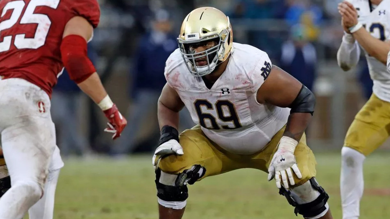 Aaron Banks is a great pickup for ther Niners OL