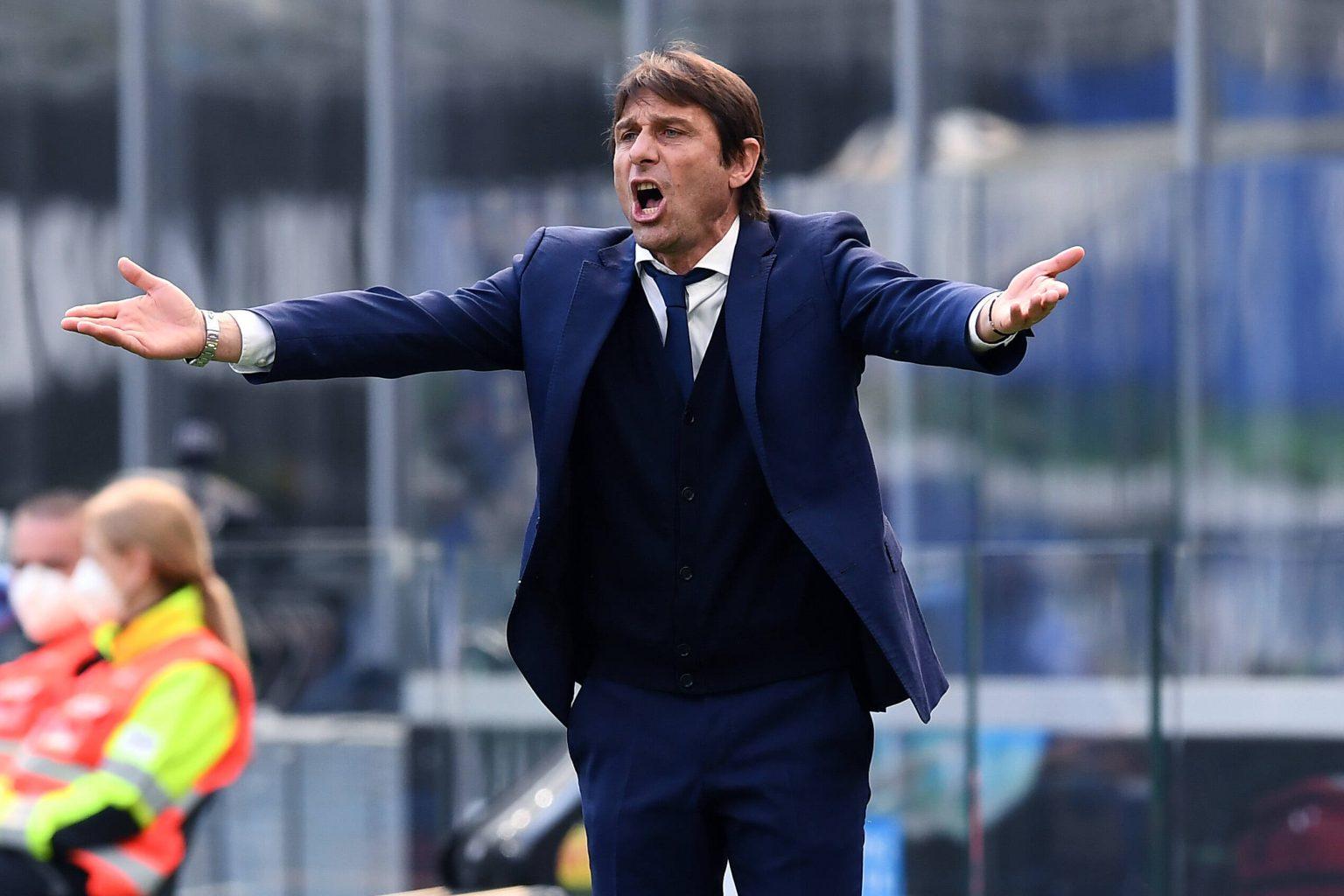 Antonio Conte left Inter