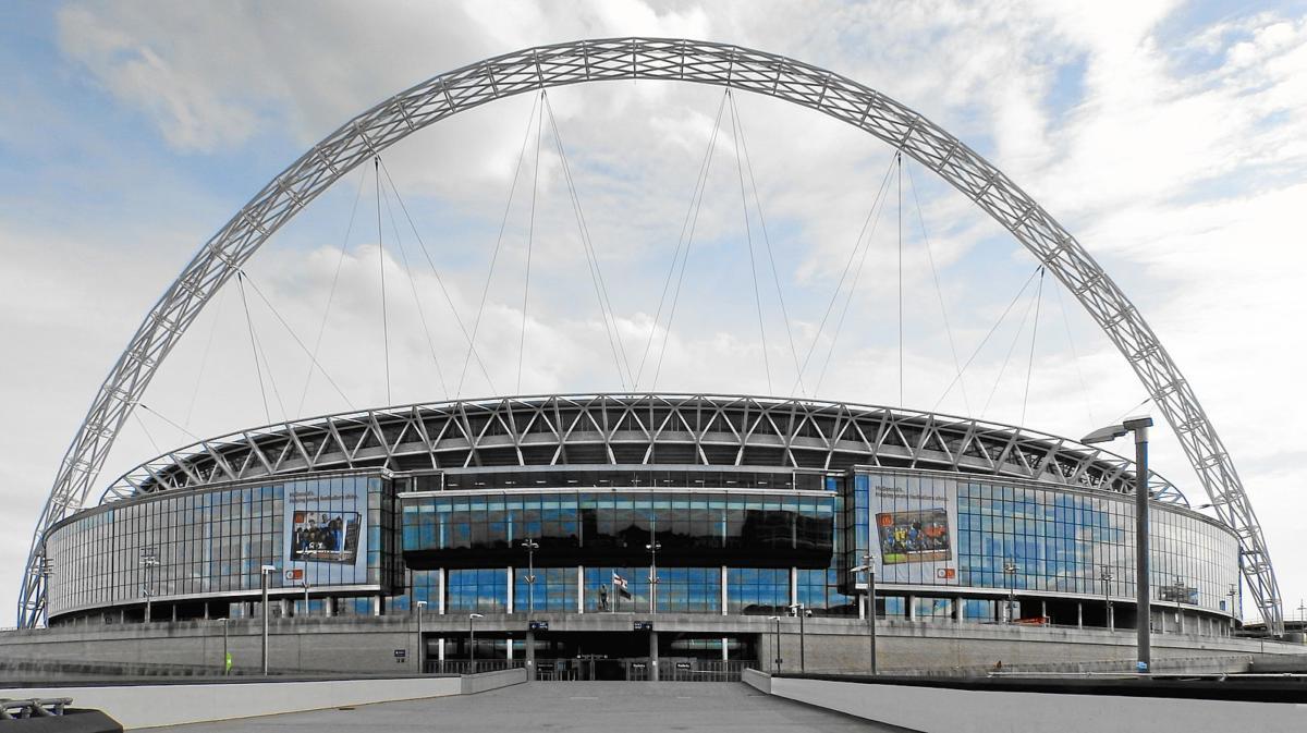Brentford Vs Swansea, Wembley Stadium, Championship Play-Off Final