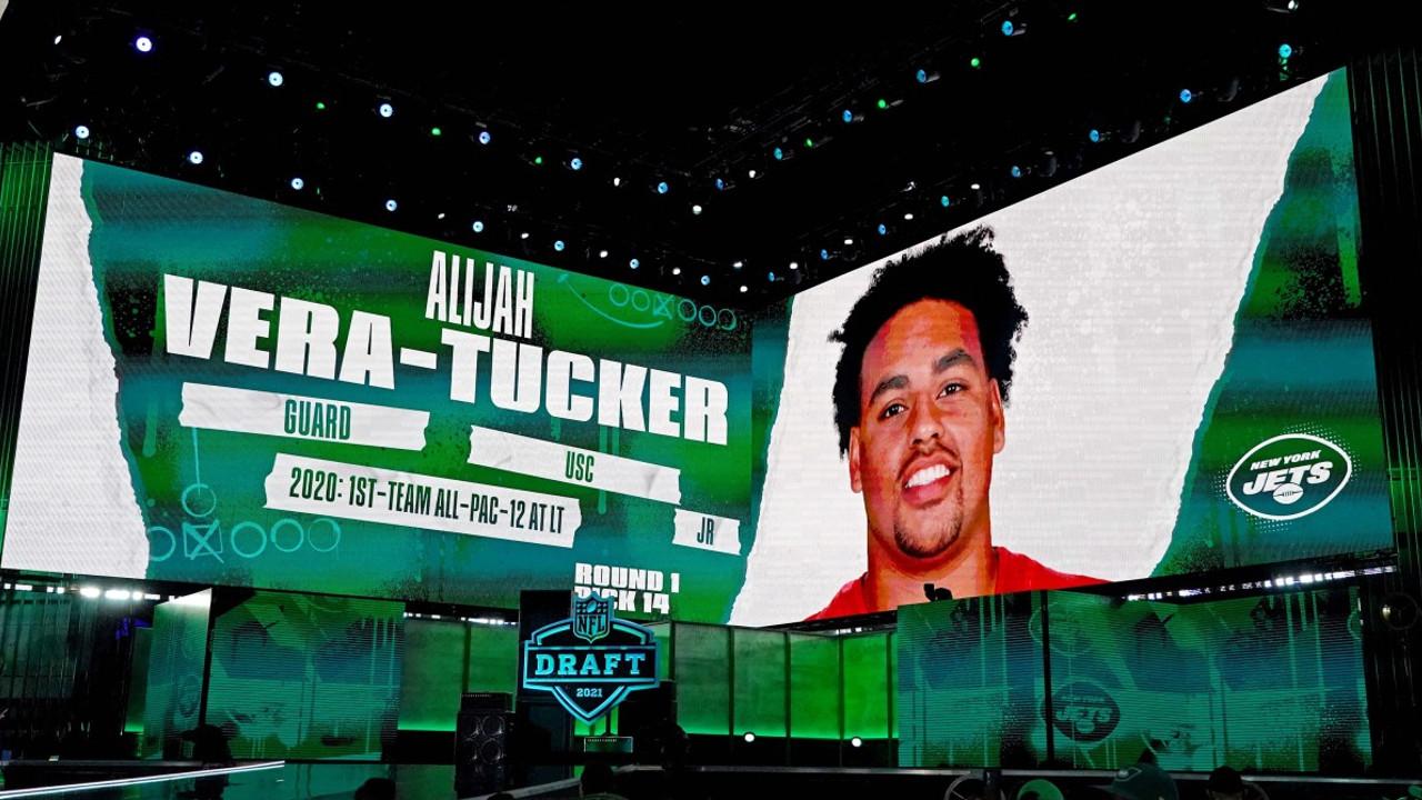 Draft Grades Alijah Vera Tucker Helps Earn The Jets A Top Grade