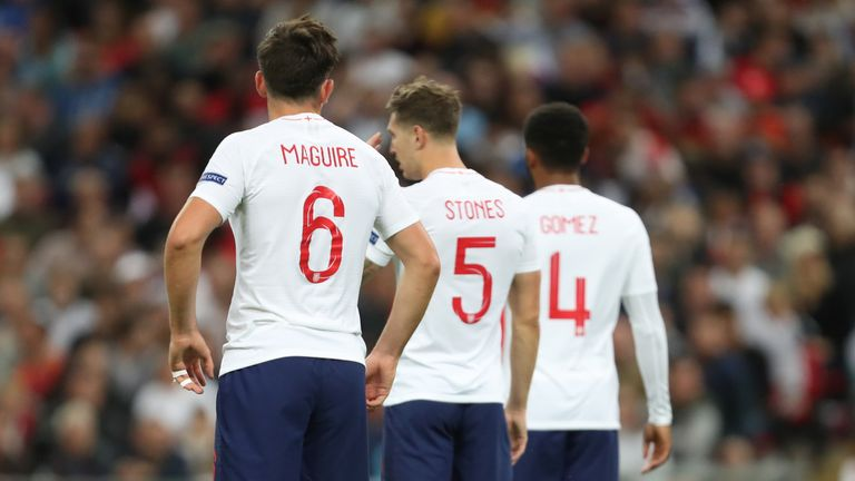 Englands Centre Back Options At The Euros 1