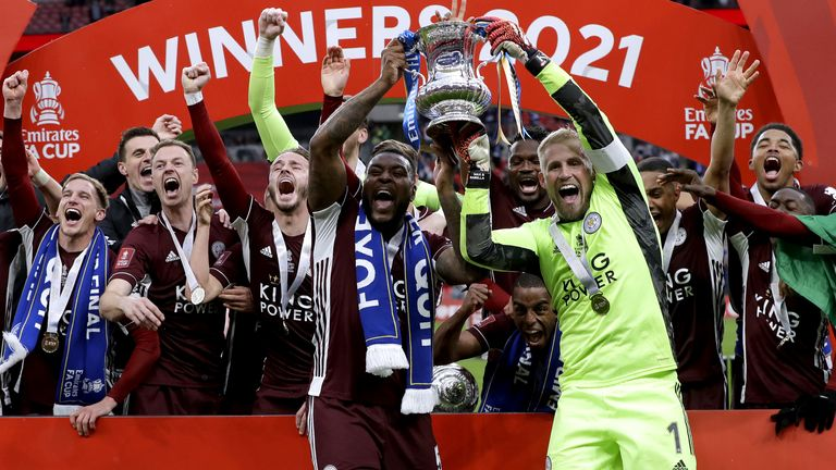 Fa Cup Elation For Leicester (Source Sky News)