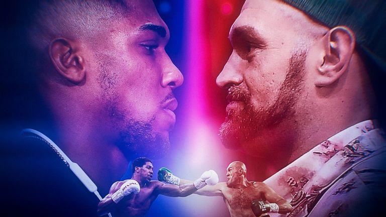 Anthony Joshua Vs Tyson Fury - Head To Head