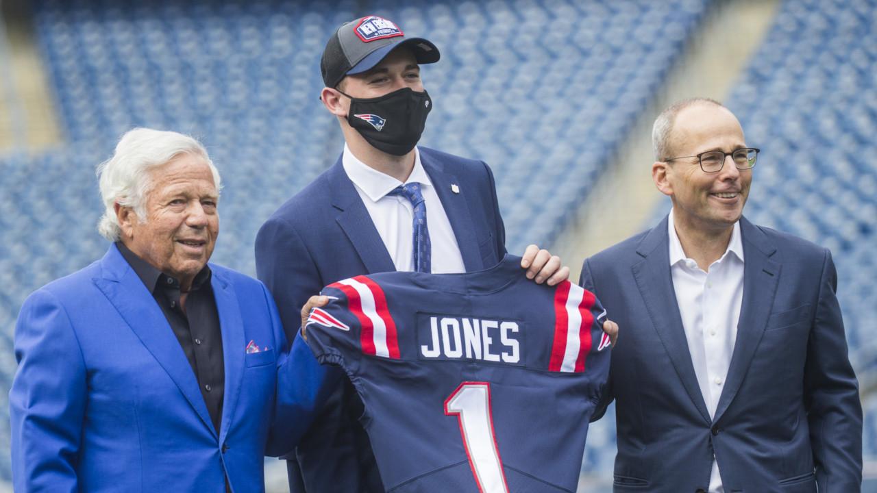 Mac Jones Fell To Patriots At The 15Th Pick