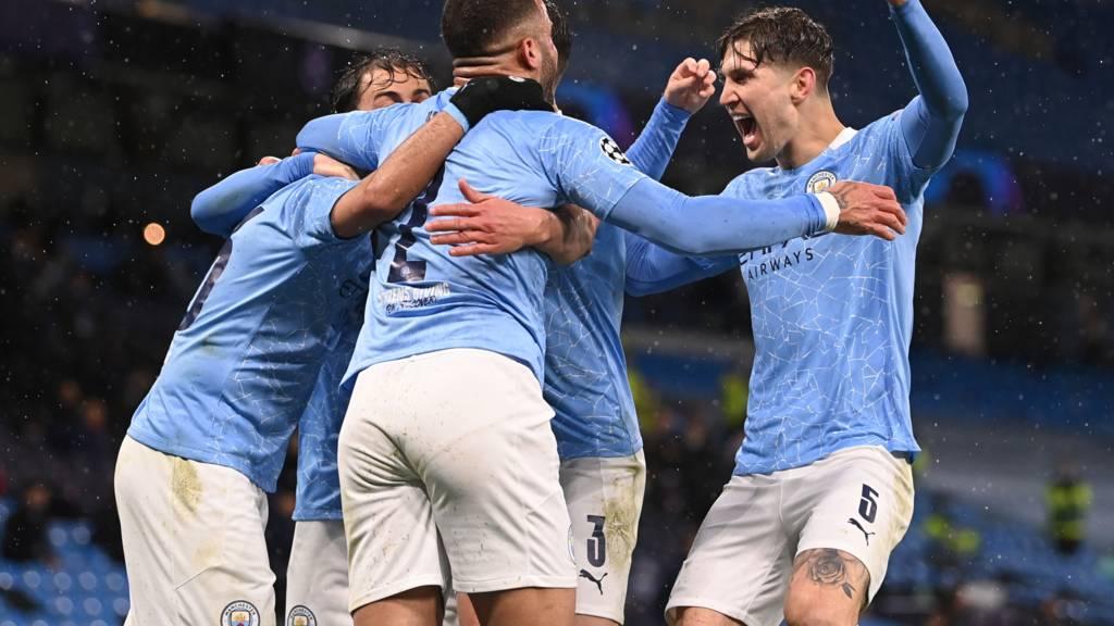 Man City advance to Final