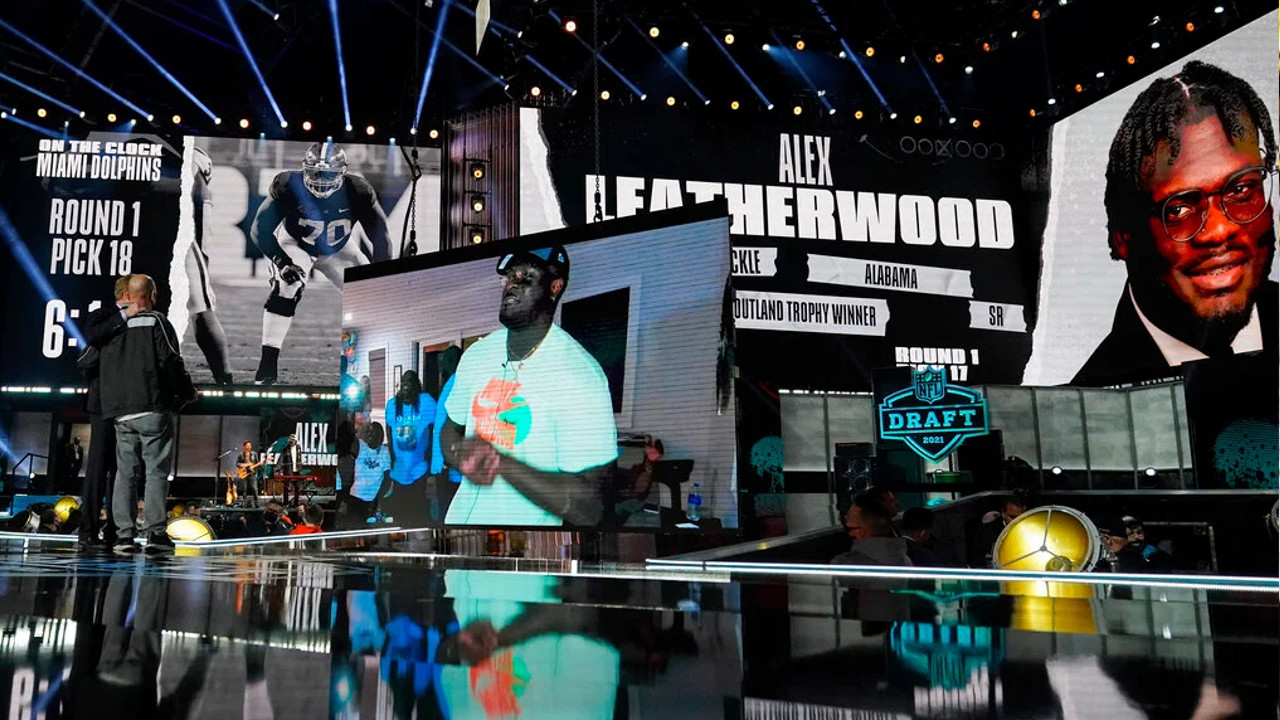 Raiders Added Alex Leatherwood For A Strong Presence On The Ol