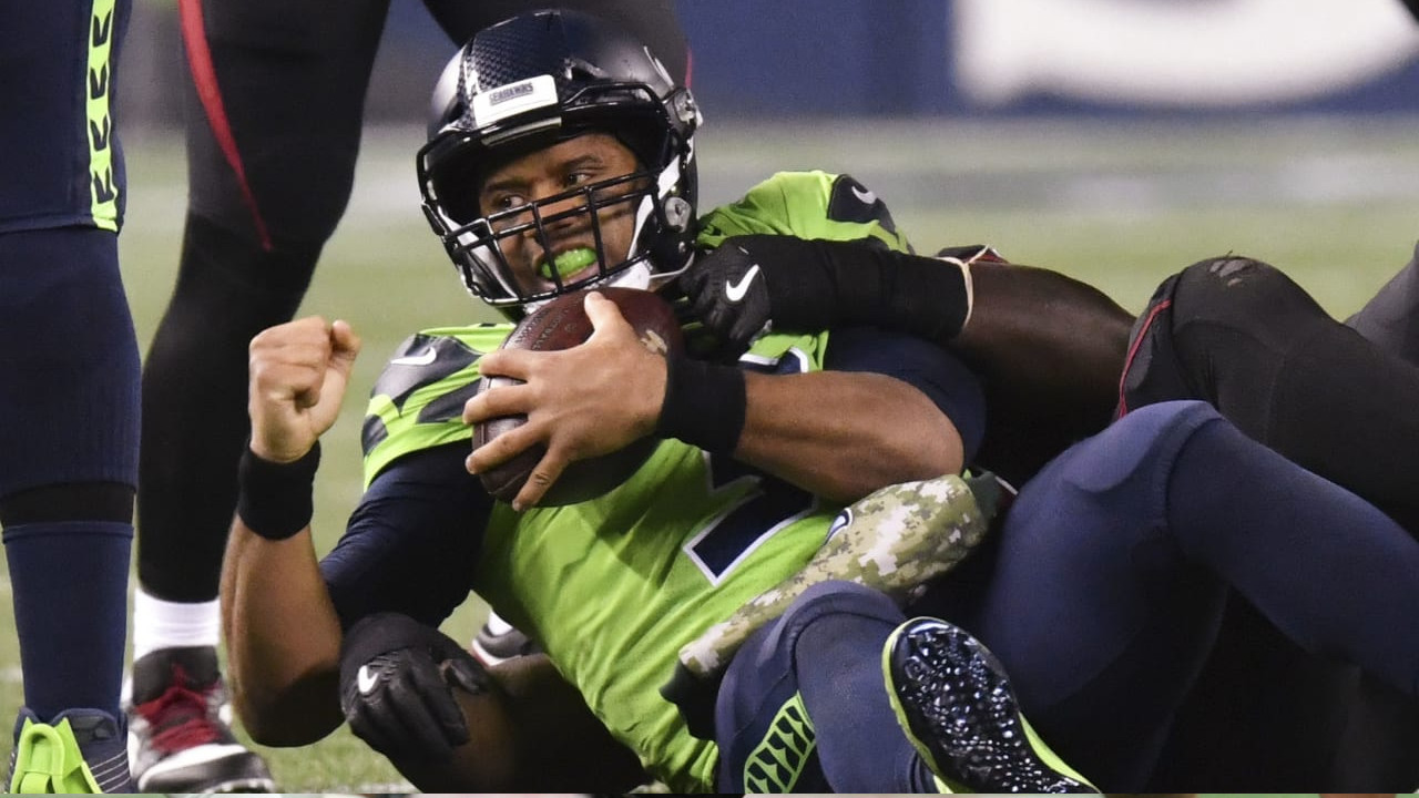 Russell Wilson Is Not Getting Any Help From His Ol