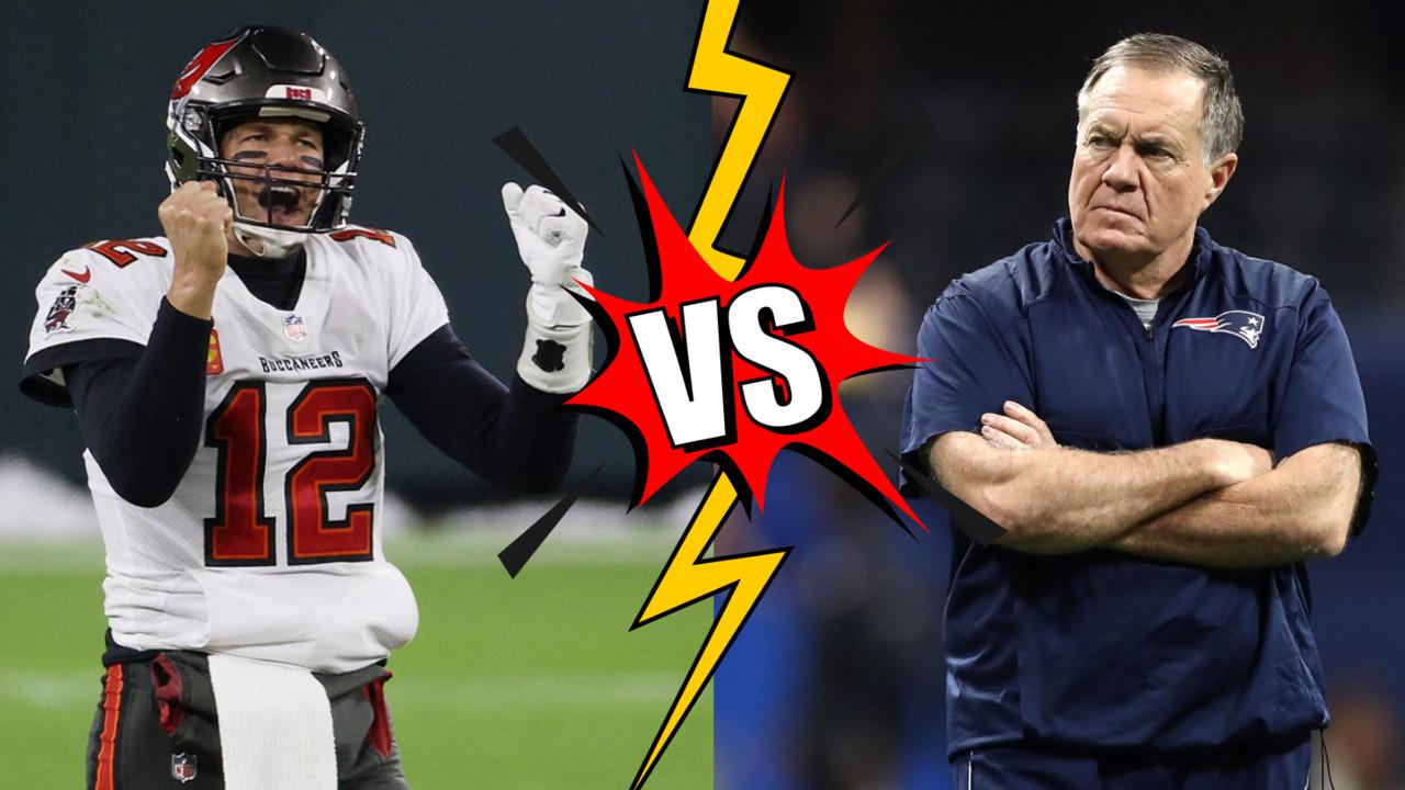 Tom Brady vs Bill Belichick