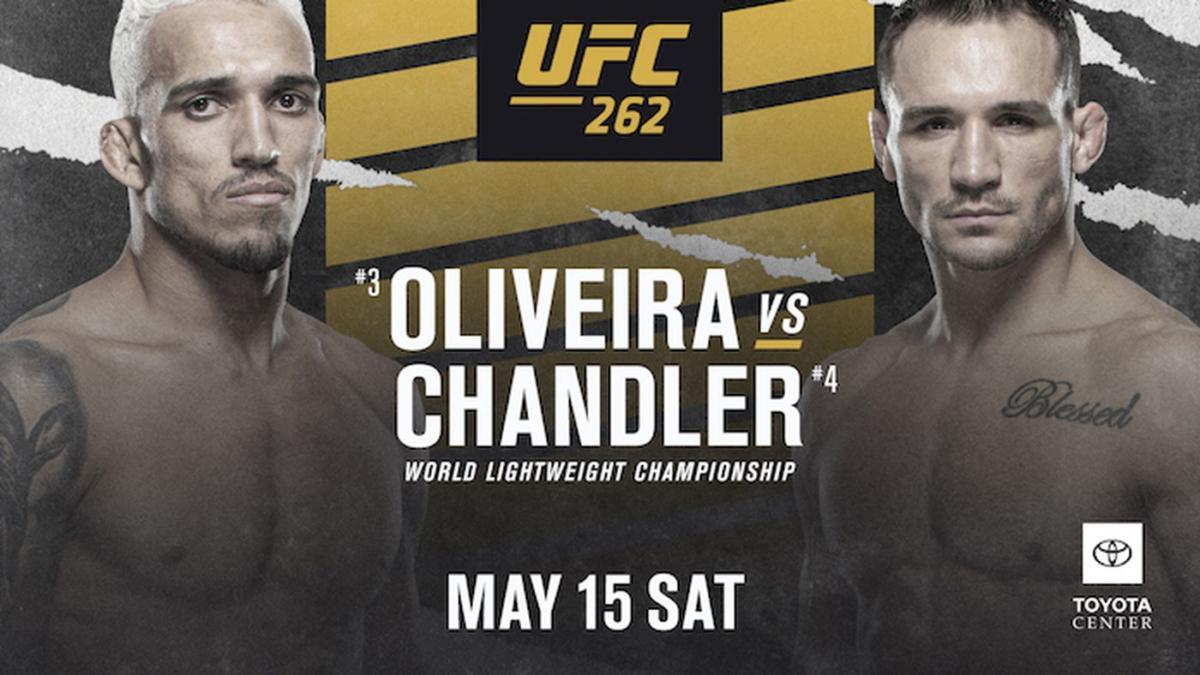 UFC 262 - Chandler vs Oliviera