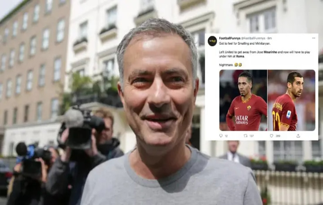 Jose Mourinho Is Back In Management With Roma