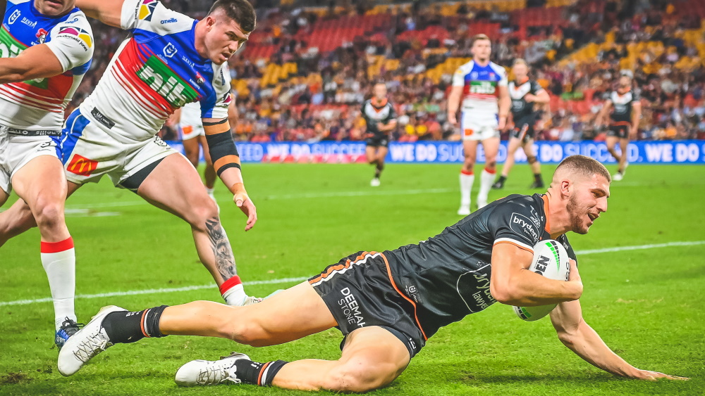 Wests Tigers Newcastle Knights NRL 2021