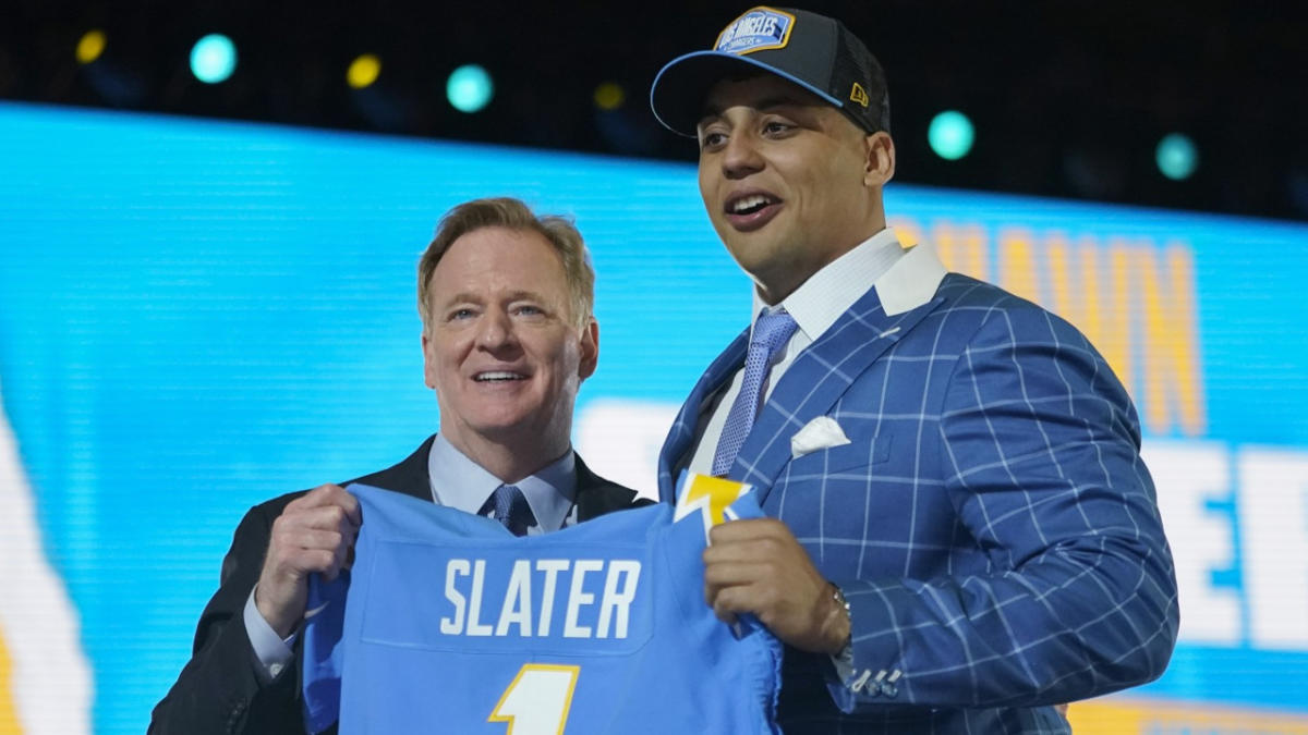 When the Chargers stole Rashawn Slater they secured their draft grade