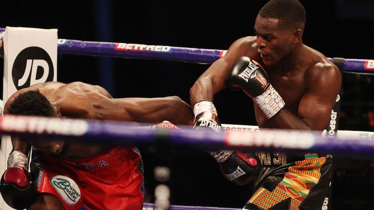 Buatsi'S Knockout Blow On Dos Santos