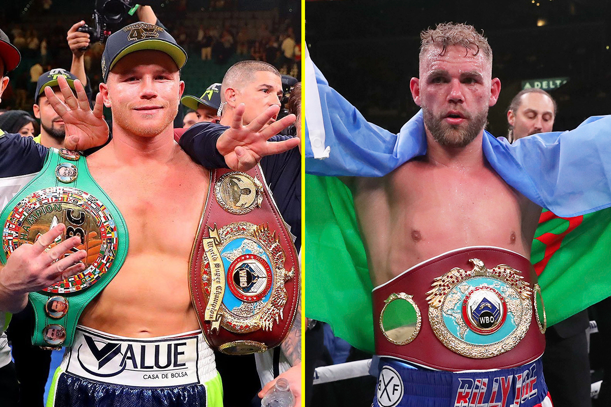 canelo saunders super middleweight 1