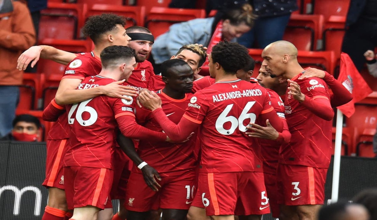 Liverpool Makes Top 4 With A Comfortable Win Against Crystal Palace