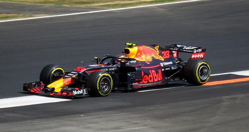 Max Verstappen Driving For Red Bull