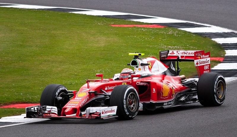Sebastian Vettel in his Ferrari days