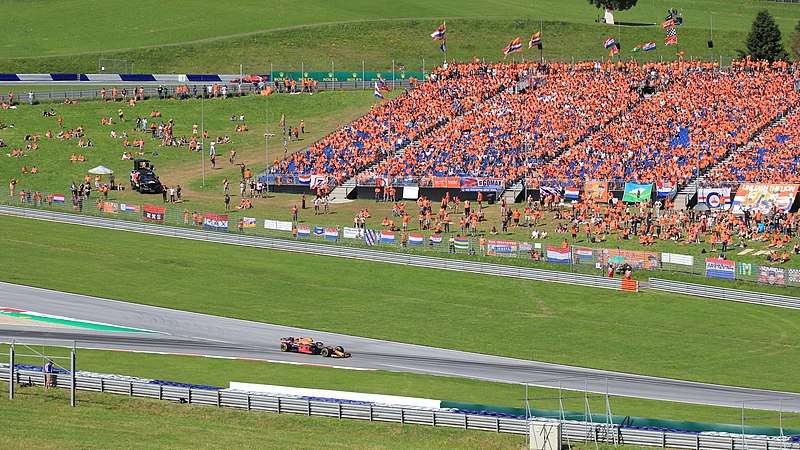 Dutch Fans At The Red Bull Ring In Austria