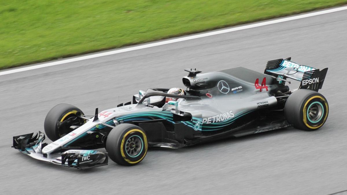 Lewis Hamilton Driving For Mercedes