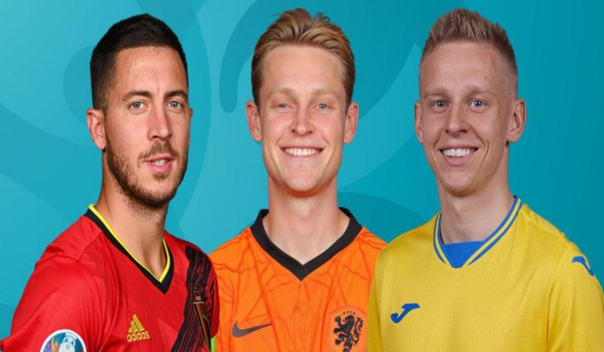 Belgium Dutch and Ukraine feature in Todays Euro action