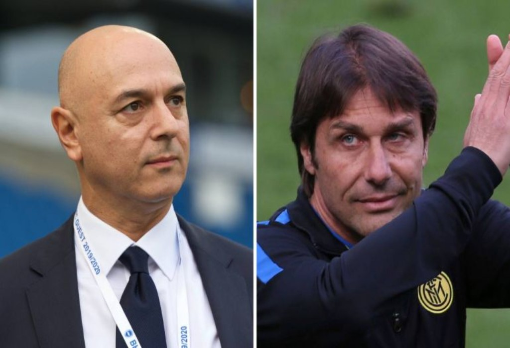 Daniel Levy to appoint Antonio Conte as Tottenham manager