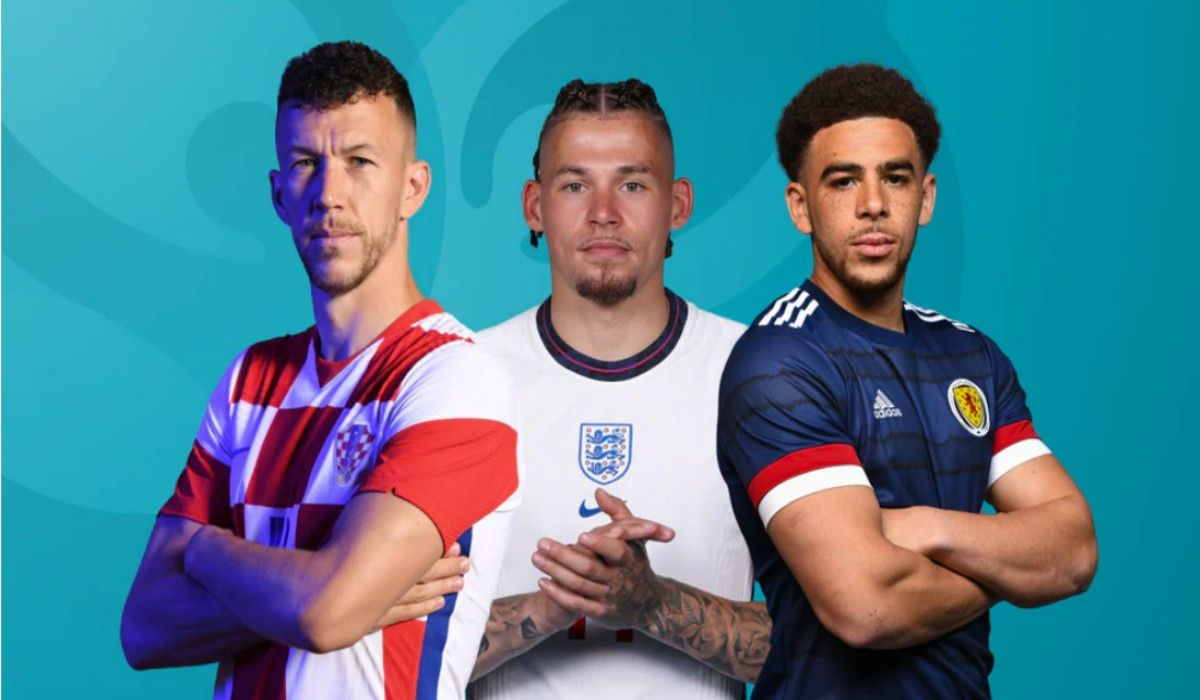 Euro 2020 England vs Czech Scotland vs Croatia