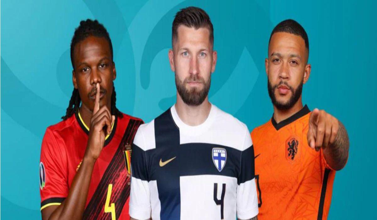 Euro 2020 Finland vs Belgium Russia vs Denmark