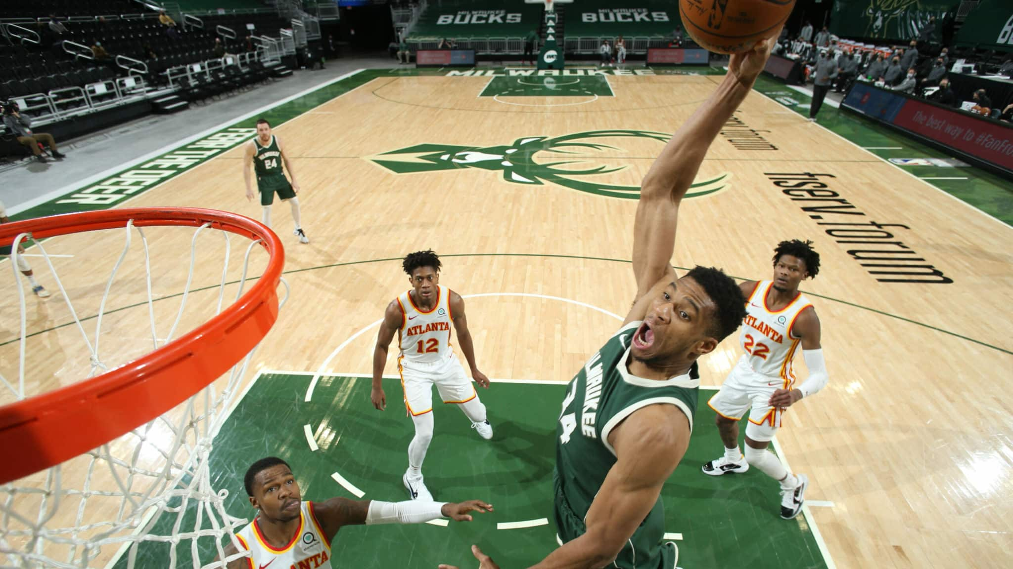 The Bucks And The Hawks Do Battle In The Eastern Conference Finals
