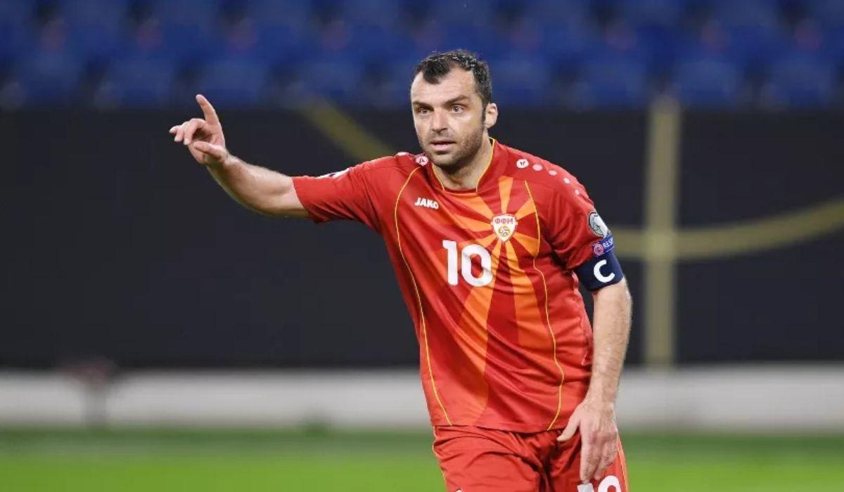 Goran Pandev The Legend For Macedonia Football