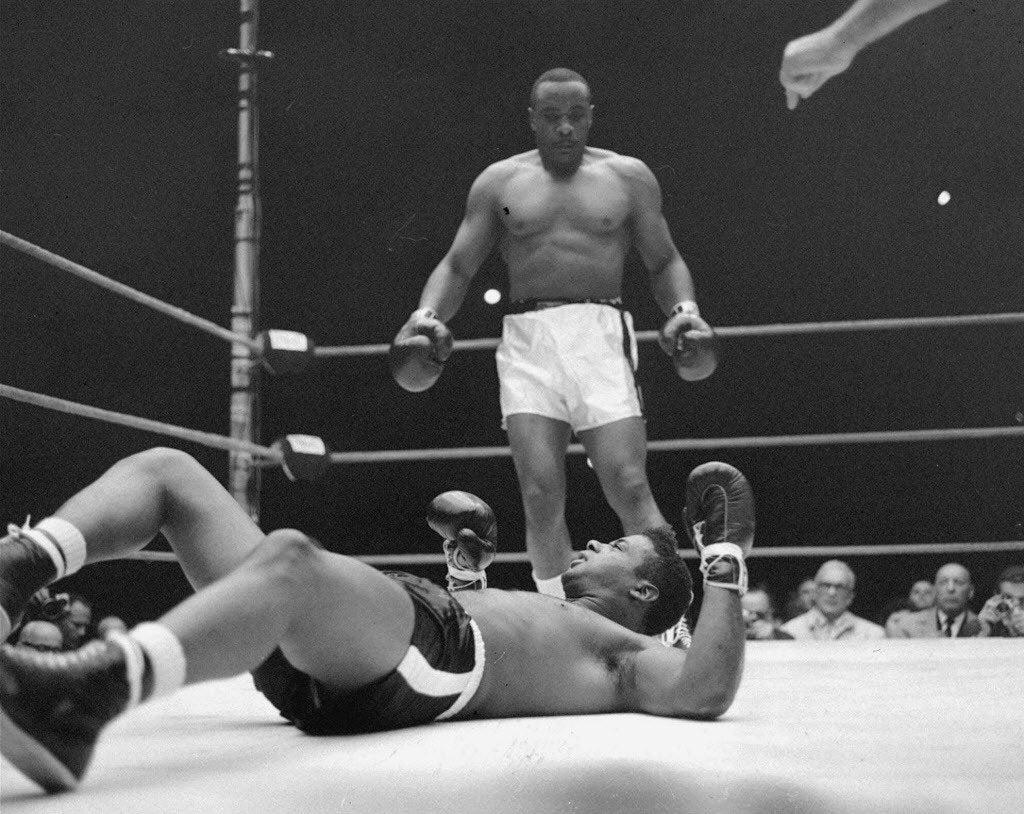 Sonny Liston Vs Floyd Patterson