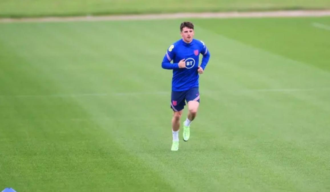 Mason Mount Back In Training With England