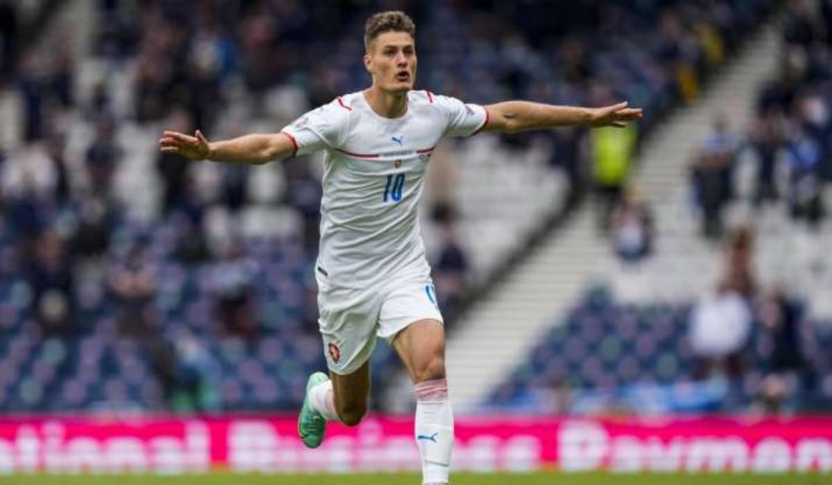 Patrick Schick Scores A Stunner For Czech Republic Against Scotland