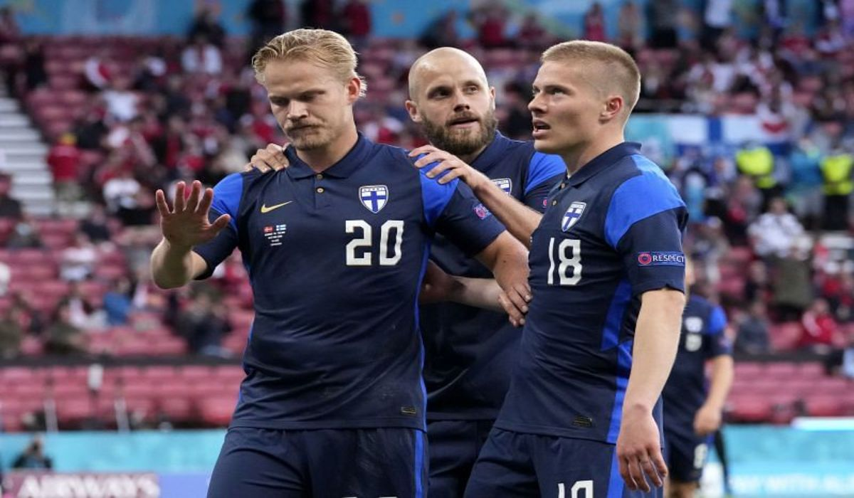 Pohjanpolos Goal For Finland Against Denmark