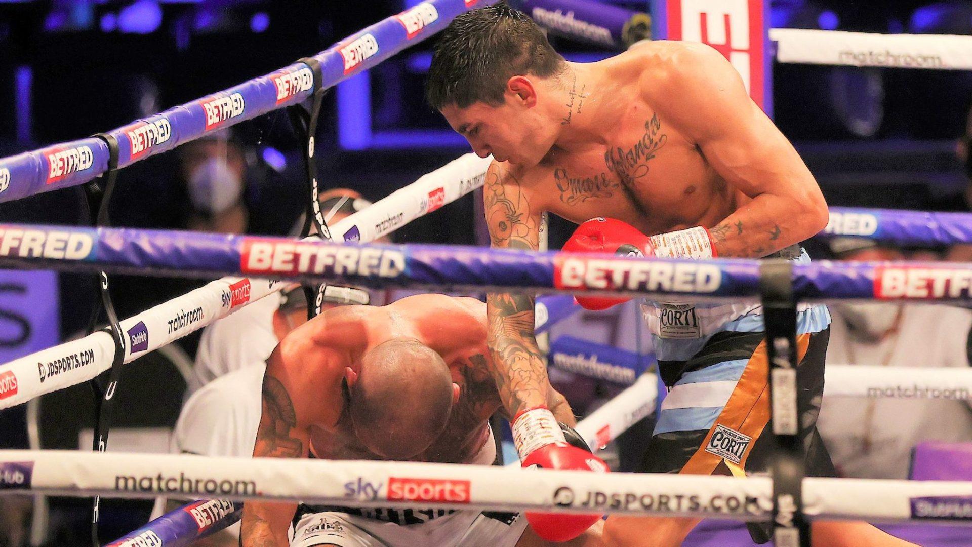 Jeremias Ponce Knockdown