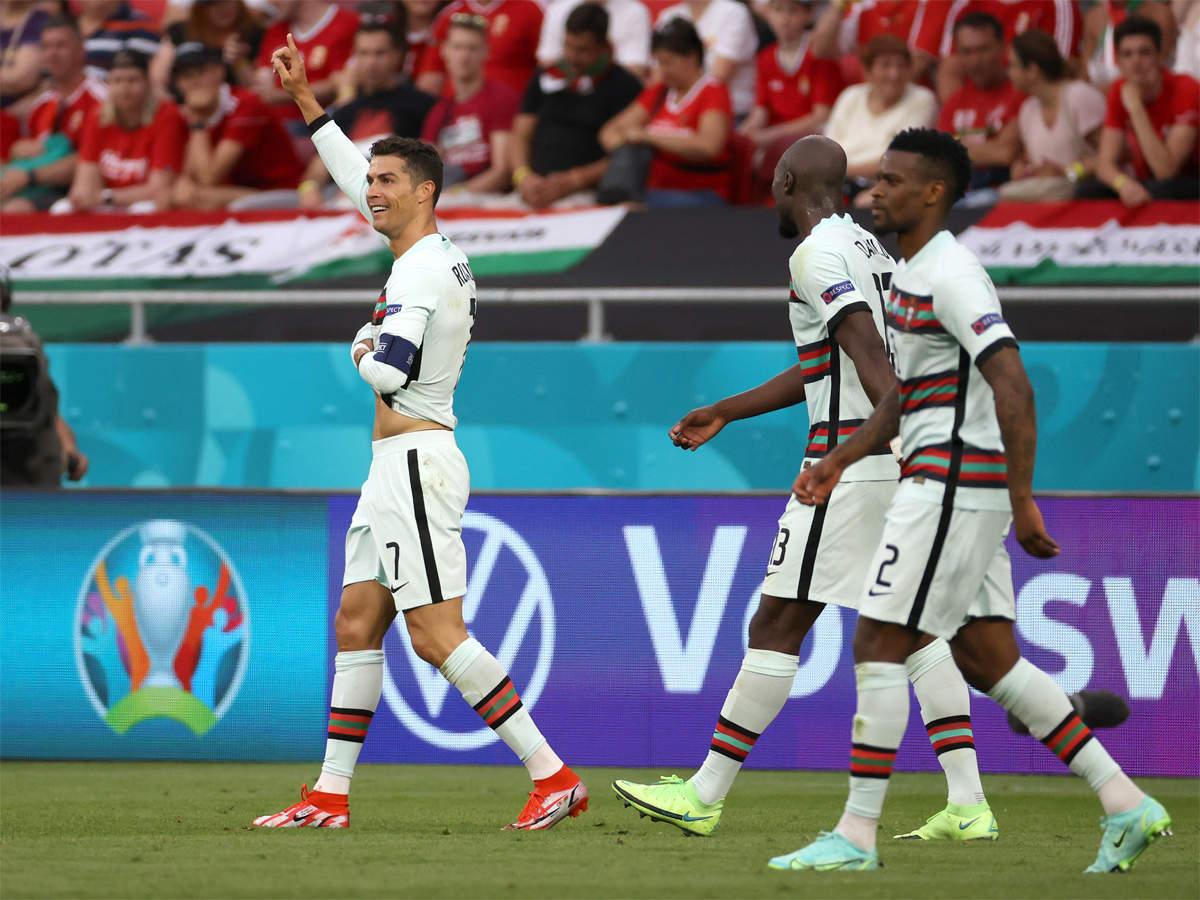 Ronaldo scores as Portugal defeat Hungary