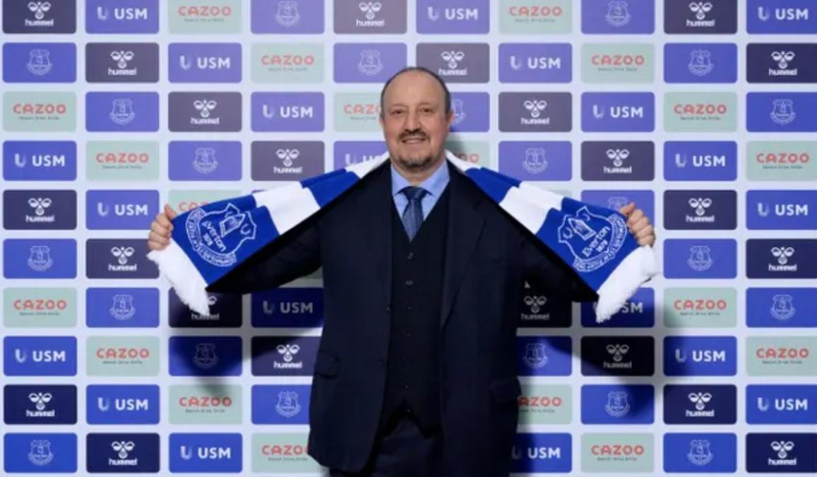Rafa Benitez Appointed As The New Everton Manager