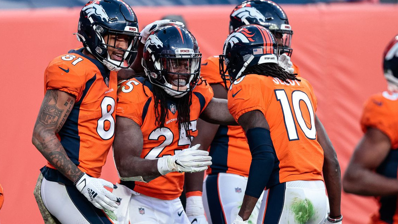 Tim Patrick Melvin Gordon And Jerry Jeudy Are Just Some Of The Broncos Talented Offensive Weapons