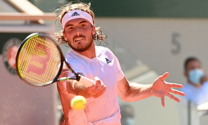 Tsitsipas In His Maiden Grand Slam Final Source The Guardian