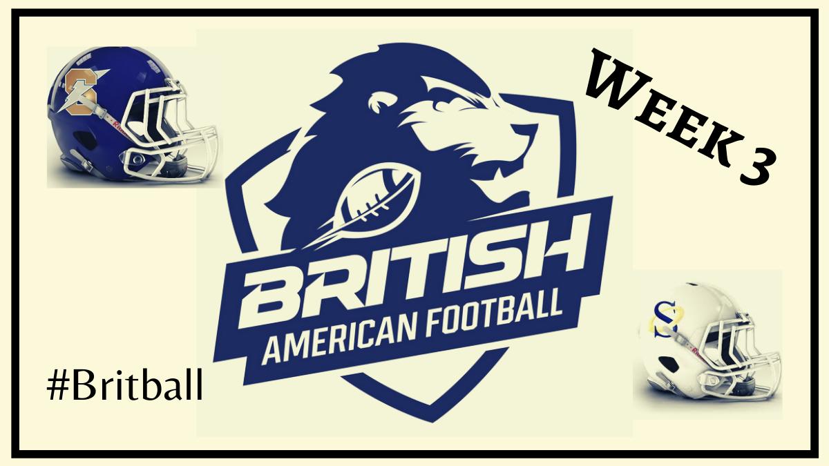 Britball Schedule Week 3