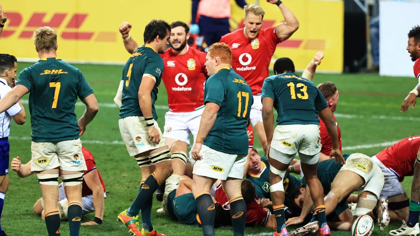 British and Irish Lions vs South Africa