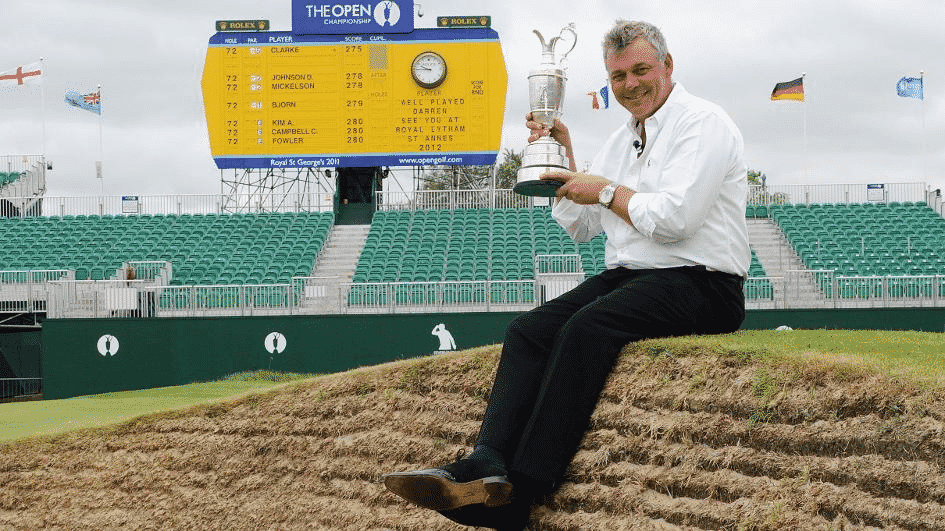 Darren Clarke Open Champion