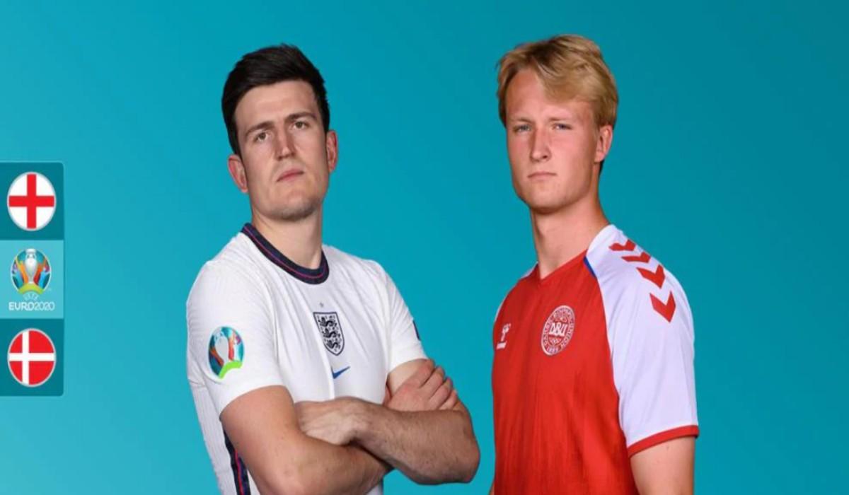 Euro 2020 Semifinal England vs Denmark