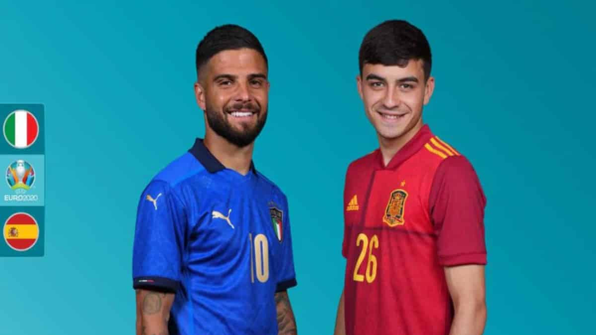 Euro 2020 Semifinal Italy Vs Spain 1