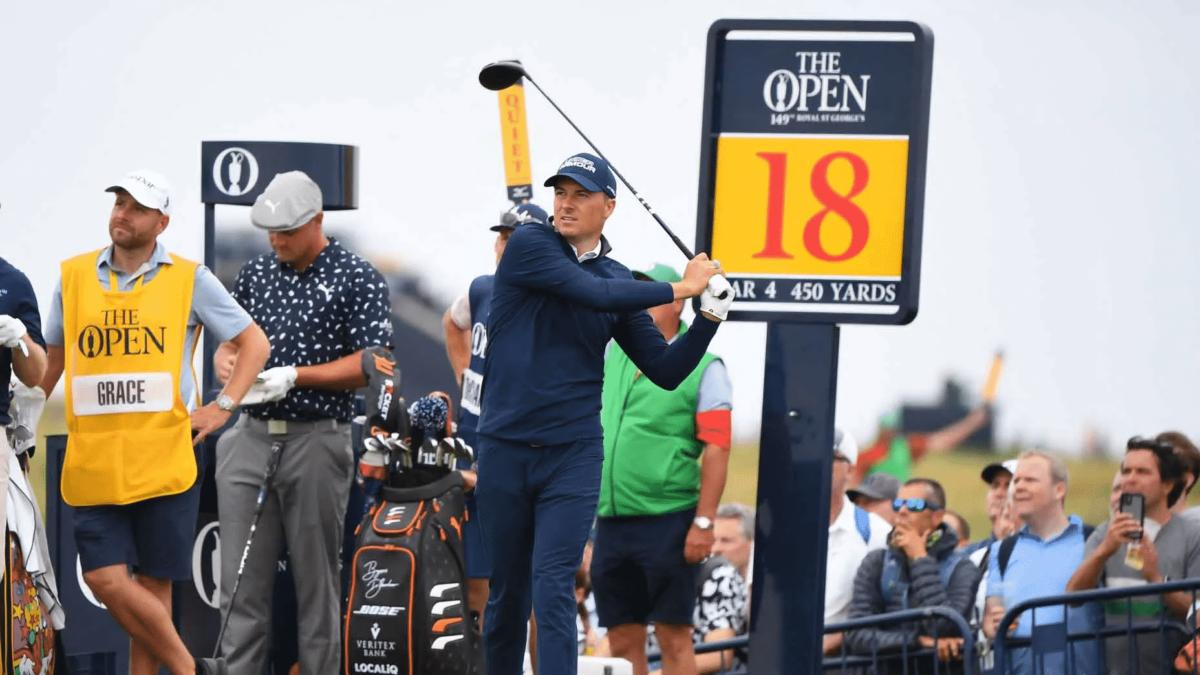 Jordan Spieth Open Championship