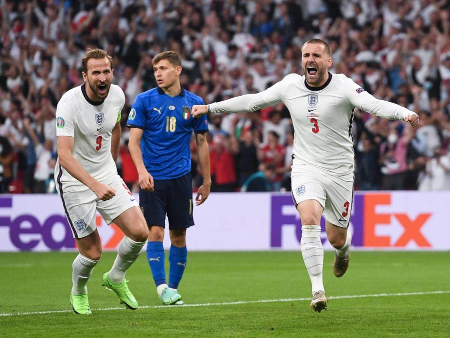 Luke Shaw Goal Celebration Source Sportstar