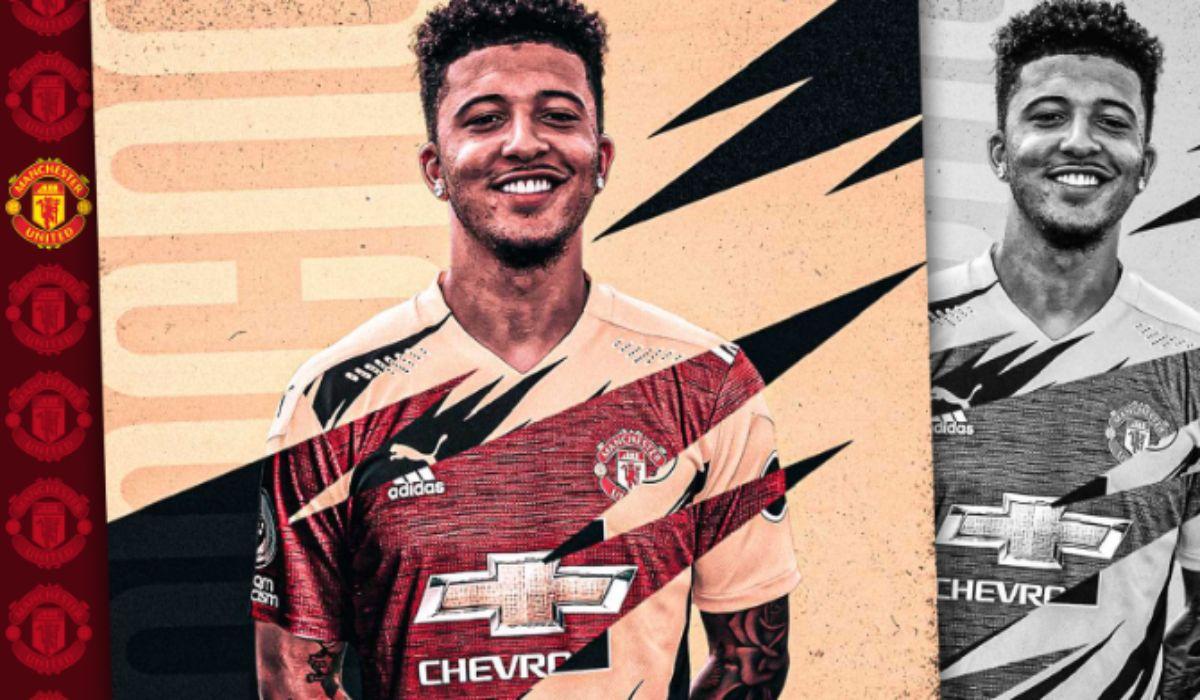 Man United confirm the agreement for Dortmund winger Jadon Sancho