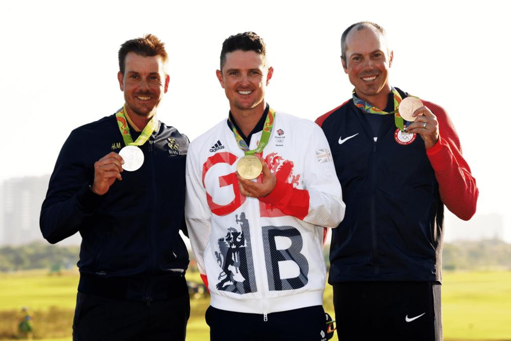 Mens Golf Olympics 2016