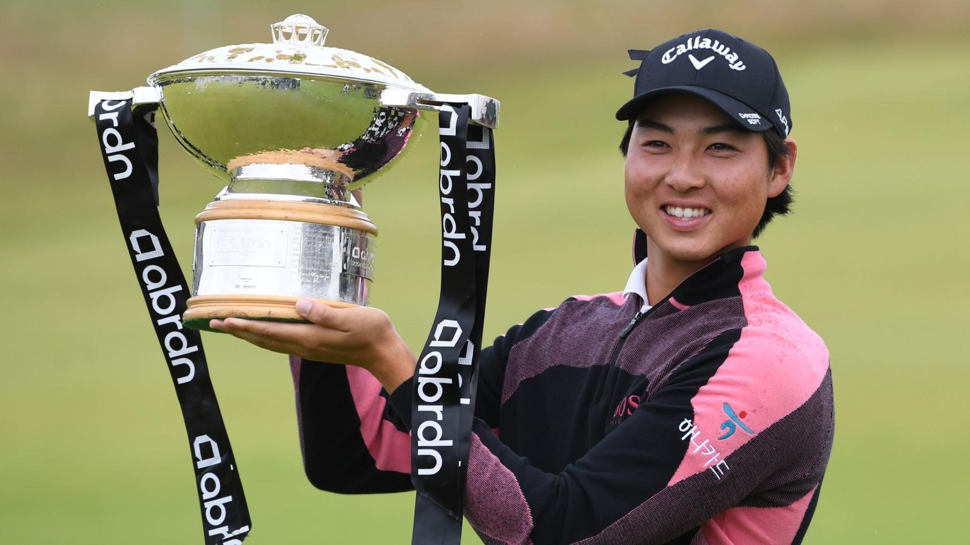 Min Woo Lee Scottish Open