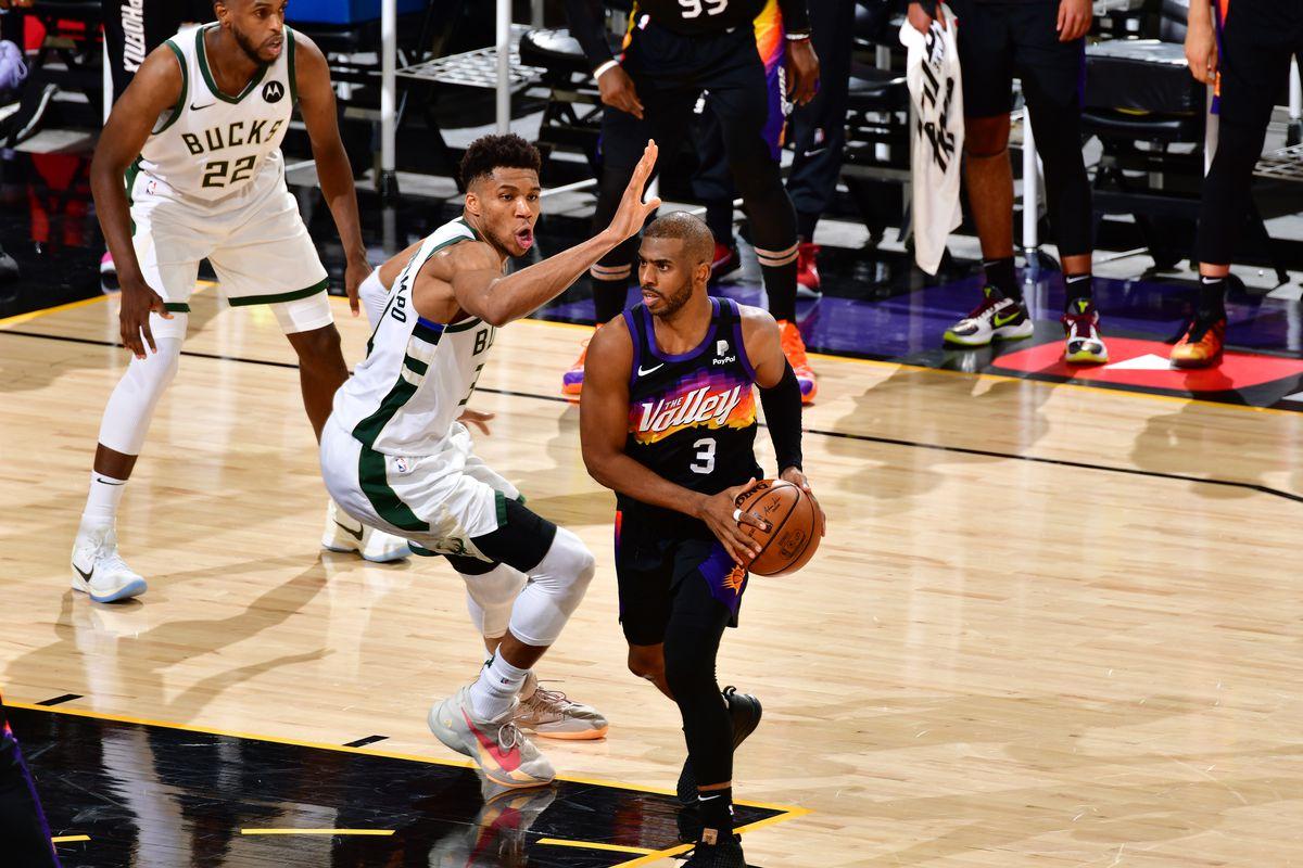Milwaukee Bucks NBA Finals 2021 CP3