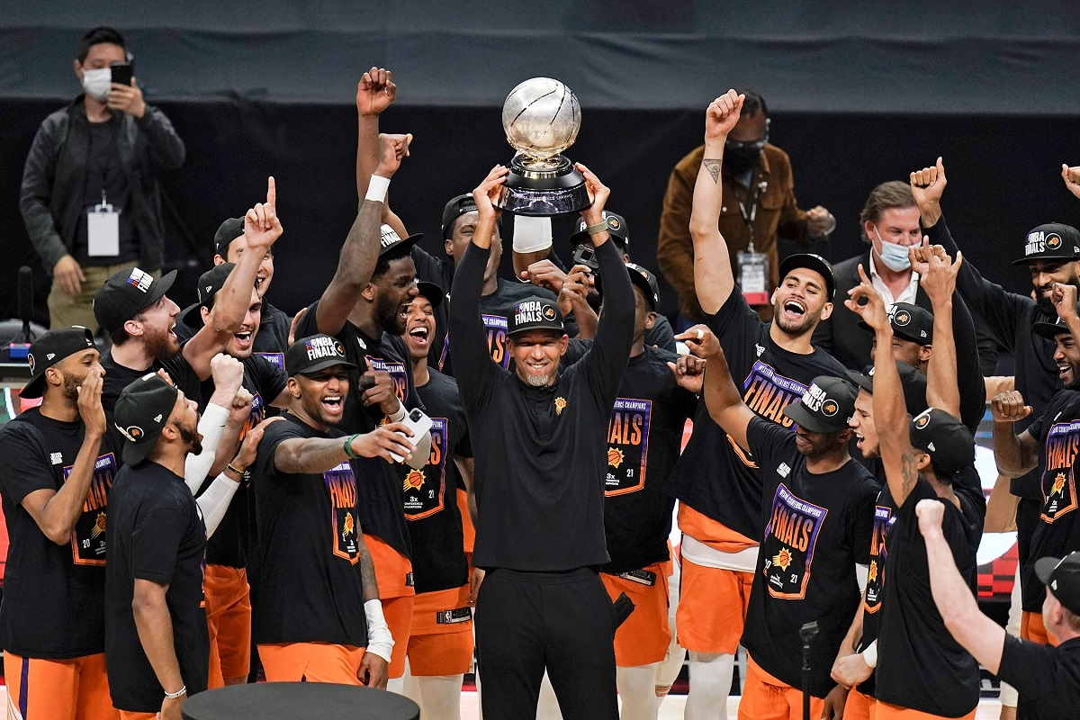 Phoenix Suns clinch Western Conference Finals